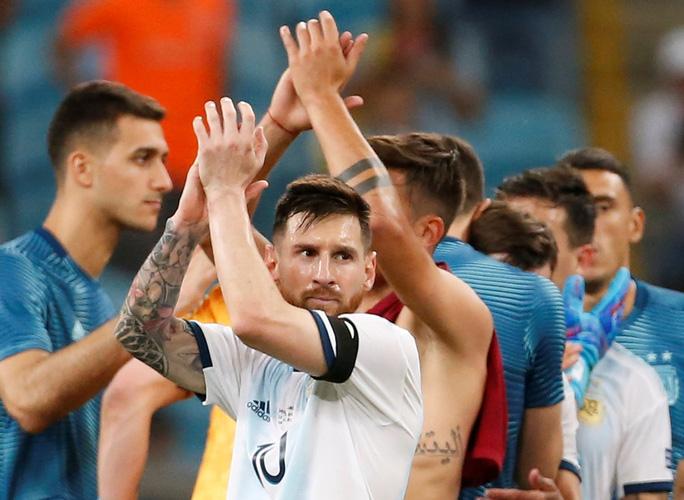 Loại nhà vô địch châu Á, Argentina giành vé tứ kết Copa America - Ảnh 8.