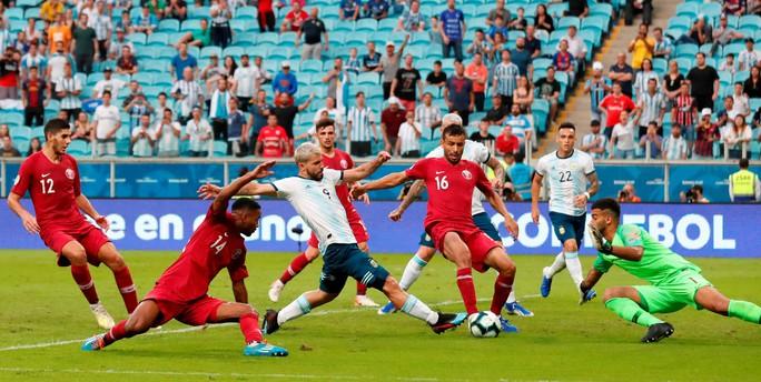 Loại nhà vô địch châu Á, Argentina giành vé tứ kết Copa America - Ảnh 2.