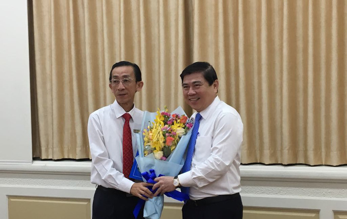 Thầy Trần Hoàng Ngân làm Viện trưởng Viện Nghiên cứu phát triển TP HCM - Ảnh 1.