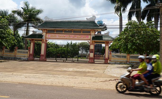 Gia Lai: Thanh tra việc mở rộng nghĩa trang huyện Đức Cơ - Ảnh 1.