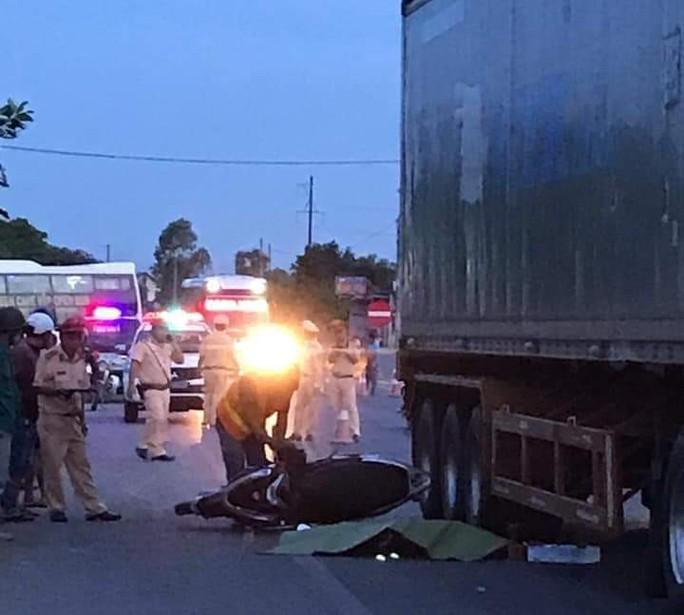 Trước ngày thi THPT quốc gia, một cán bộ coi thi bị tai nạn tử vong - Ảnh 1.