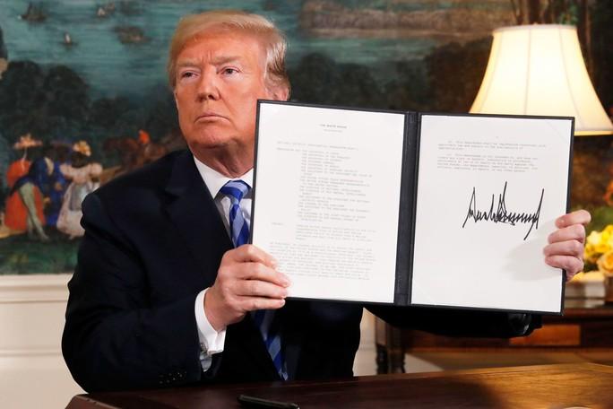 Ông Donald Trump: Lệnh trừng phạt lãnh đạo Iran là thỏa đáng  - Ảnh 2.