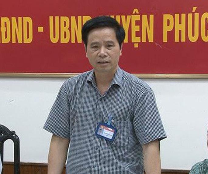 1 Bí thư huyện ở Hà Nội bị cách tất cả chức vụ trong Đảng - Ảnh 1.