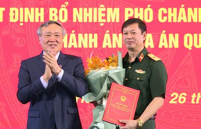 Thiếu tướng 50 tuổi làm Chánh án Tòa án Quân sự Trung ương - Ảnh 1.