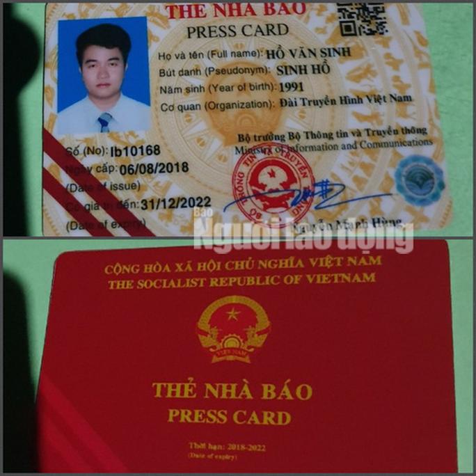 Giả danh nhà báo của Đài Truyền hình Việt Nam? - Ảnh 1.