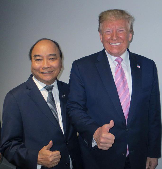 Người phát ngôn nói về cuộc gặp giữa Thủ tướng Nguyễn Xuân Phúc và Tổng thống Donald Trump - Ảnh 1.