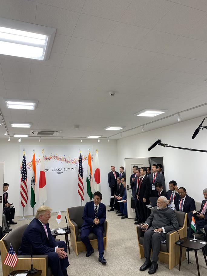 Khởi đầu suôn sẻ của ông Trump tại Hội nghị G20 - Ảnh 2.