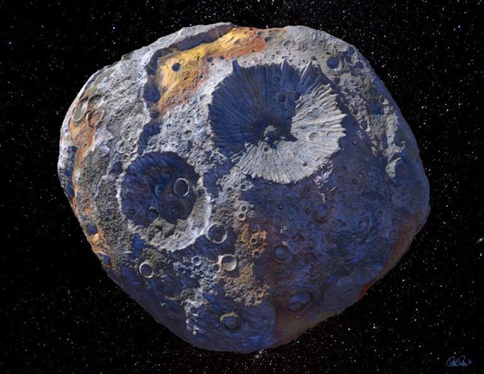 Một tiểu hành tinh gần trái đất là khối vàng trị giá triệu tỉ USD - Ảnh 1.