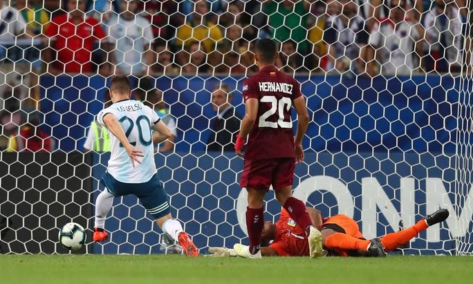 Đánh bại Venezuela, Argentina chờ siêu kinh điển Nam Mỹ ở bán kết - Ảnh 7.