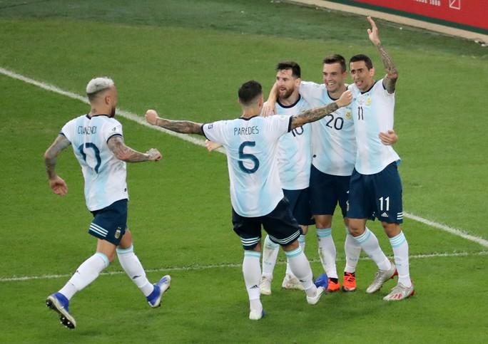 Đánh bại Venezuela, Argentina chờ siêu kinh điển Nam Mỹ ở bán kết - Ảnh 8.