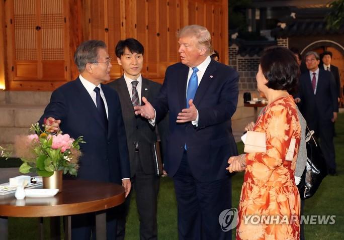 Tổng thống Trump đến khu phi quân sự liên Triều - Ảnh 1.