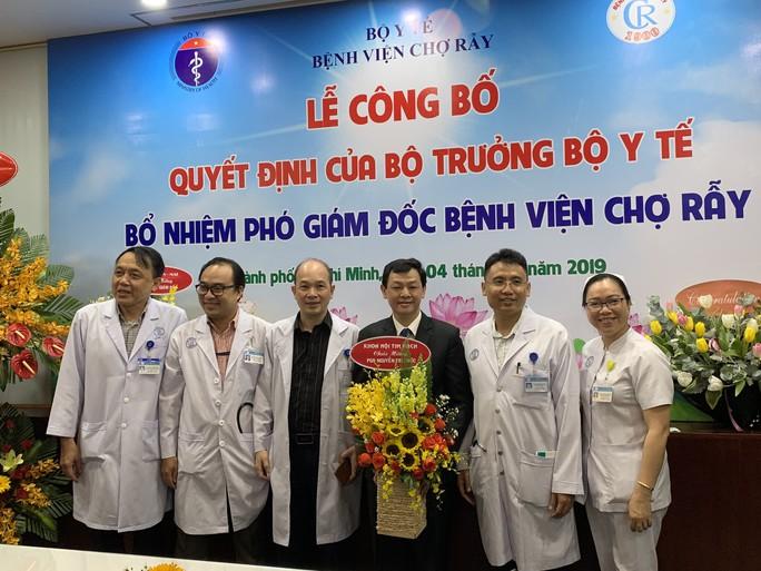 Bệnh viện Chợ Rẫy có thêm phó giám đốc chuyên môn - Ảnh 1.