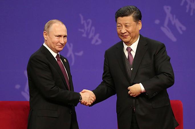 Nga - Trung tăng cường hợp tác - Ảnh 1.