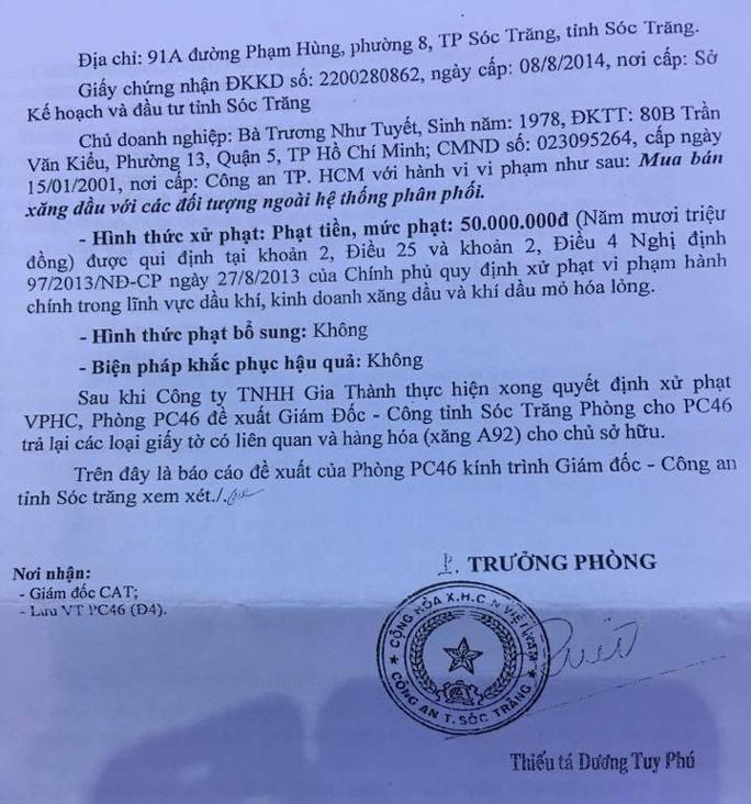 """Lật lại """"phi vụ"""" mua bán 2 triệu lít xăng có liên quan đến đại gia Trịnh Sướng - Ảnh 5."""