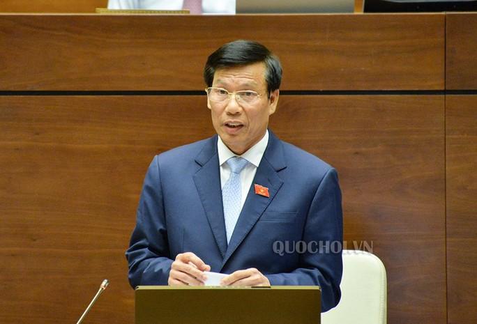 Quốc hội chất vấn Bộ trưởng Bộ VH-TT-DL Nguyễn Ngọc Thiện - Ảnh 1.