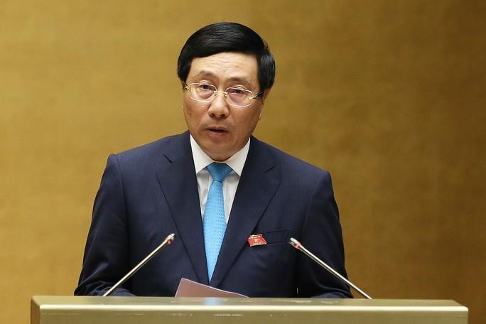 Phó Thủ tướng Phạm Bình Minh: Xử lý nghiêm các vụ án tham nhũng AVG, Vũ nhôm; Út trọc - Ảnh 1.