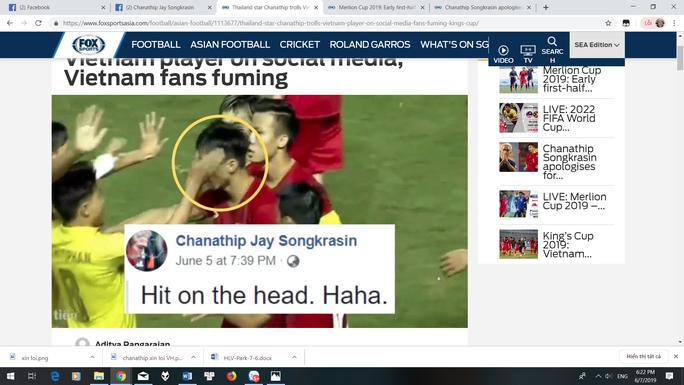 Messi Thái Lan dùng tiếng Việt xin lỗi Văn Hậu sau bình luận quá trớn - Ảnh 1.