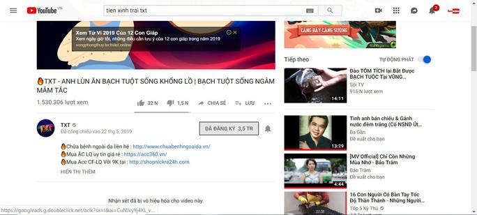Clip xấu, độc tràn lan YouTube - Ảnh 1.
