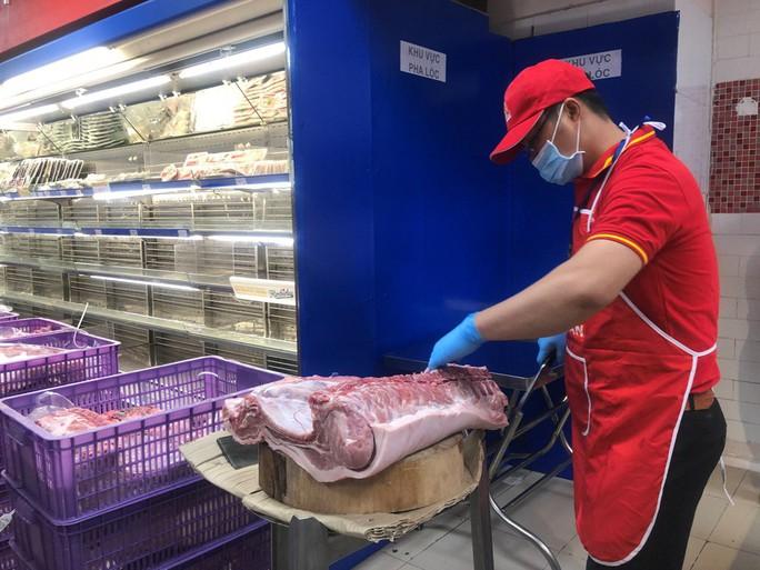 Khảo sát chuỗi cung ứng thịt heo cho siêu thị giữa dịch tả heo châu Phi - Ảnh 2.