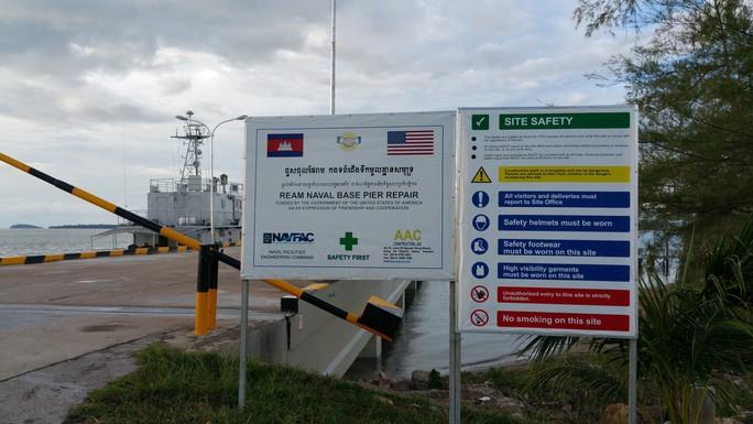 Mỹ yêu cầu Campuchia giải thích lý do không cho sửa căn cứ hải quân - Ảnh 1.