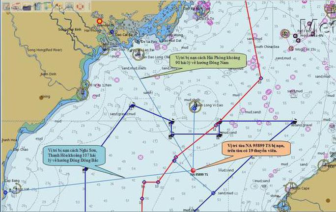 Trung Quốc điều tàu, trực thăng phối hợp tìm kiếm ngư dân Việt Nam mất tích - Ảnh 1.