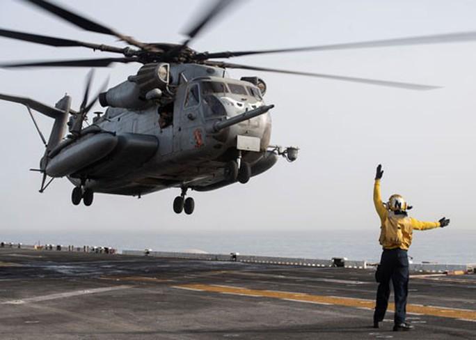Mỹ lập liên minh quân sự chống Iran - Ảnh 1.
