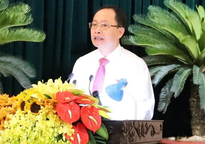 Bí thư Thanh Hóa Trịnh Văn Chiến dừng chất vấn, yêu cầu kiểm điểm vì giám đốc sở lạc đề - Ảnh 2.