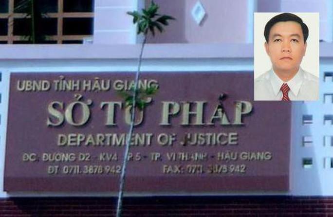 Nguyên Phó Giám đốc Sở Tư pháp không biết làm gì hơn 1 tháng nay - Ảnh 2.