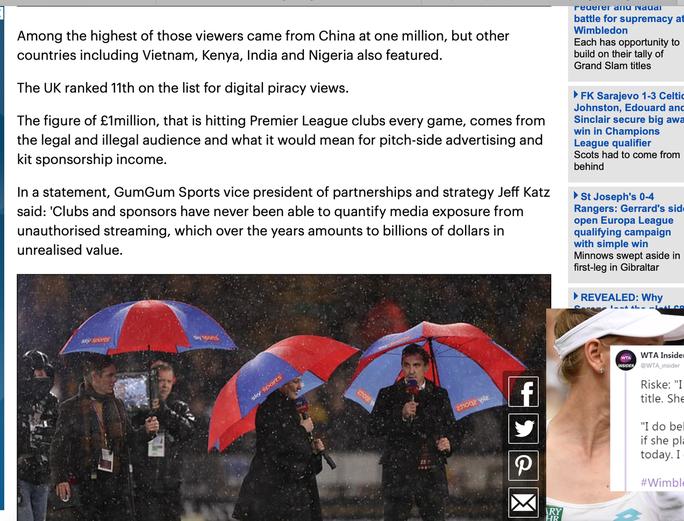 Người Việt xem lậu Ngoại hạng Anh đứng tốp 5 thế giới - Ảnh 2.