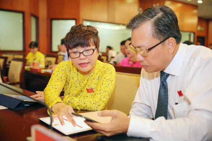Trải nghiệm kỳ họp HĐND không giấy đầu tiên tại TP HCM - Ảnh 7.