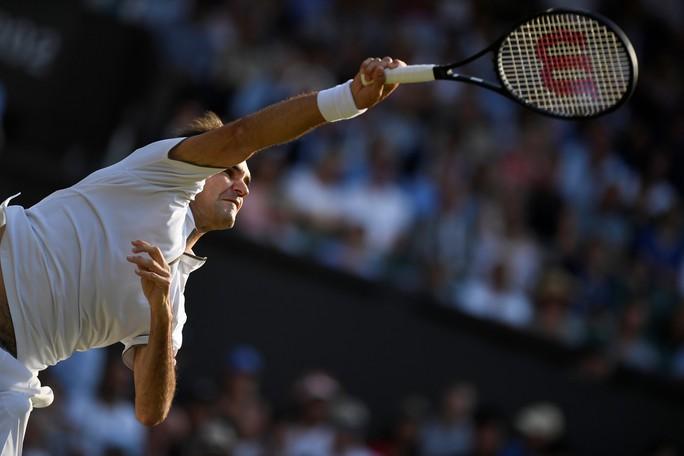 Cán cột mốc 100 trận thắng Wimbledon, Federer chạm trán Nadal ở bán kết - Ảnh 4.