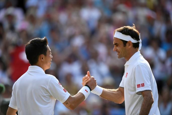 Cán cột mốc 100 trận thắng Wimbledon, Federer chạm trán Nadal ở bán kết - Ảnh 3.