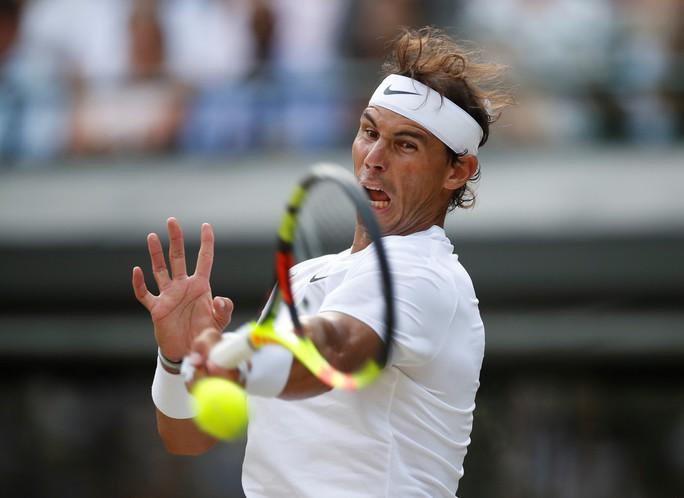 Cán cột mốc 100 trận thắng Wimbledon, Federer chạm trán Nadal ở bán kết - Ảnh 6.
