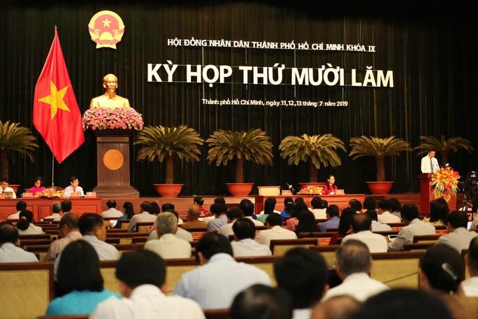 Kỳ họp thứ 15 HĐND TP HCM khóa IX: Thực hiện công tác nhân sự Thường trực HĐND TP - Ảnh 3.