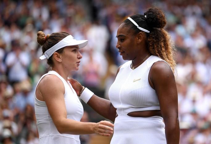 Clip: Đánh bại Serena Williams, Halep vô địch Wimbledon 2019 - Ảnh 4.