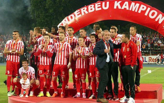 Bị cấm thi đấu 10 năm, CLB Skenderbeu dọa kiện UEFA ra tòa Thụy Sĩ - Ảnh 2.