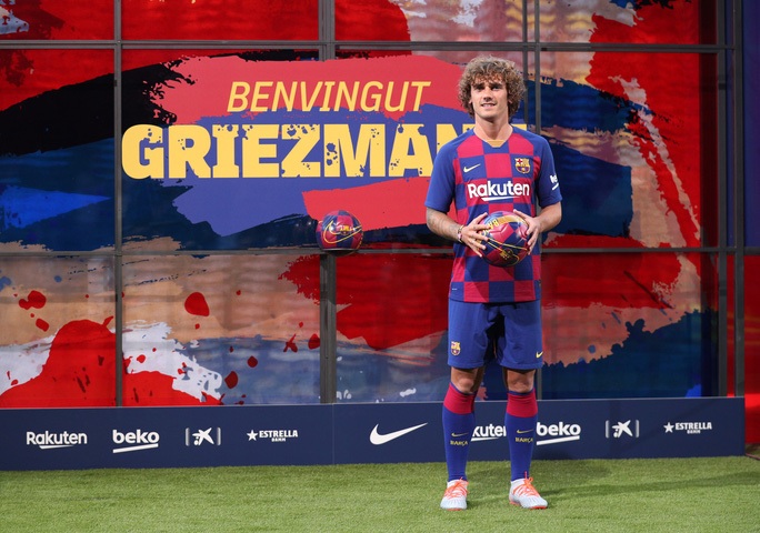 Griezmann hào hứng và hạnh phúc khi sánh vai cùng Messi - Ảnh 2.