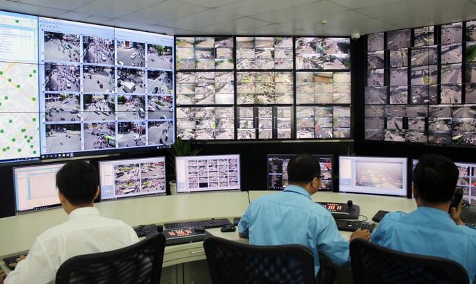TP HCM: Khoảng 7 km lại có 1 camera giám sát - Ảnh 1.