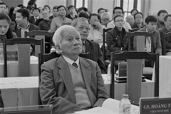 GS Hoàng Tụy: Người đi, tinh anh ở lại - Ảnh 1.