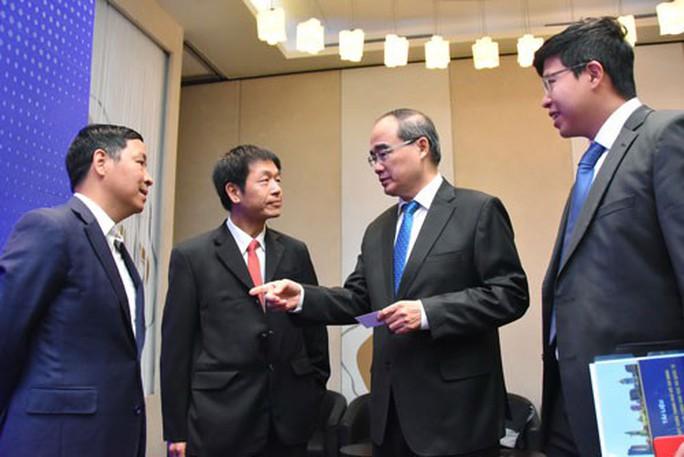 Xây dựng TP HCM thành trung tâm tài chính quốc tế - Ảnh 1.