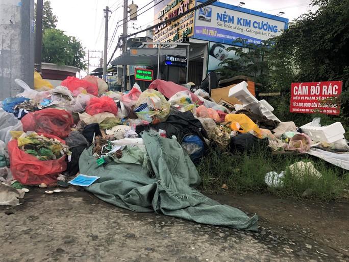 Dân bức xúc vì bãi rác nằm án ngữ cửa ngõ vào TP Bạc Liêu - Ảnh 2.