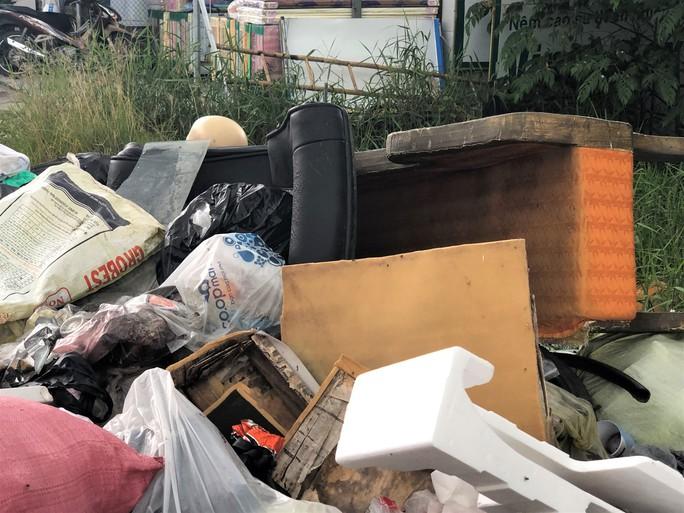 Dân bức xúc vì bãi rác nằm án ngữ cửa ngõ vào TP Bạc Liêu - Ảnh 4.