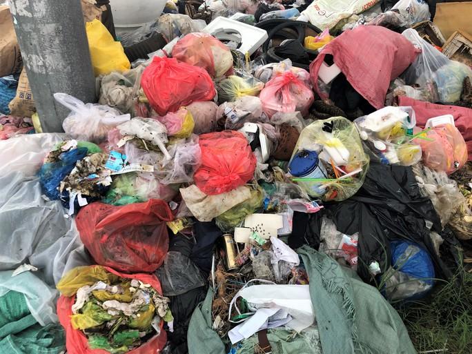Dân bức xúc vì bãi rác nằm án ngữ cửa ngõ vào TP Bạc Liêu - Ảnh 6.