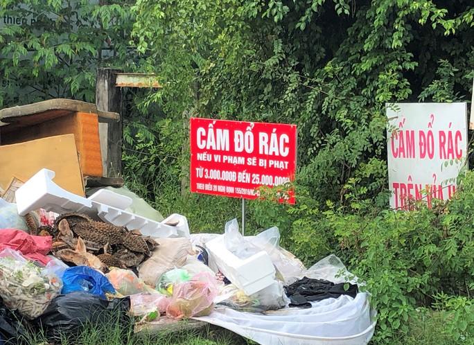 Dân bức xúc vì bãi rác nằm án ngữ cửa ngõ vào TP Bạc Liêu - Ảnh 7.
