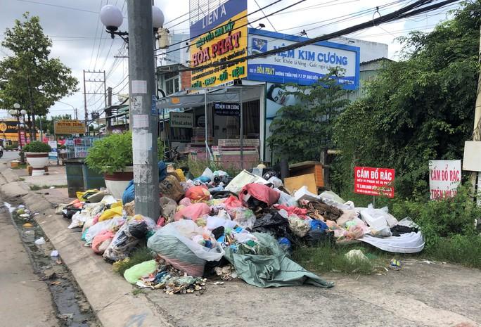 Dân bức xúc vì bãi rác nằm án ngữ cửa ngõ vào TP Bạc Liêu - Ảnh 1.