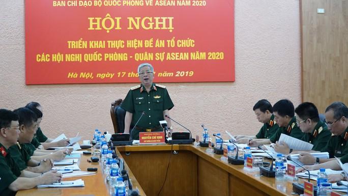 Thượng tướng Nguyễn Chí Vịnh nói về vấn đề Biển Đông - Ảnh 2.