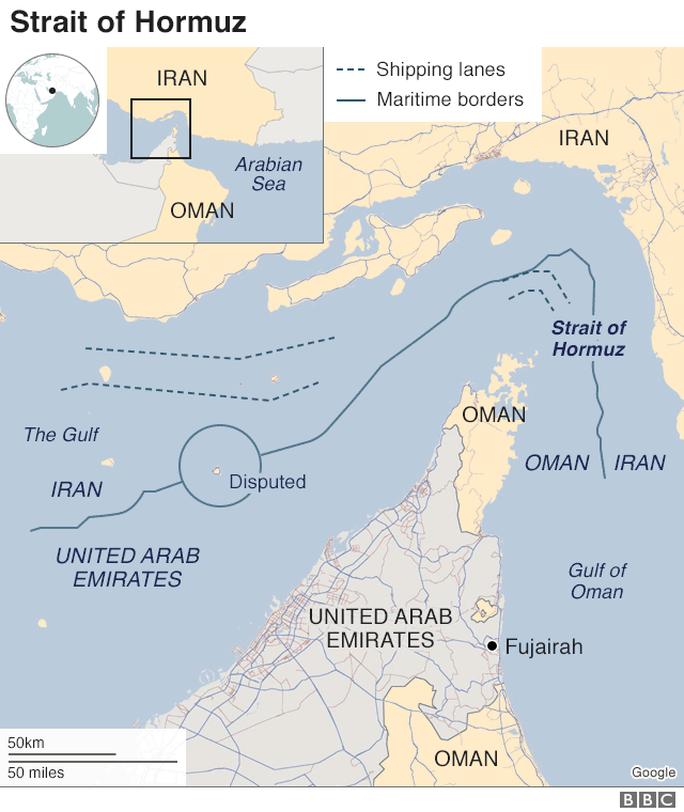 Iran bắt tàu chở dầu cùng 12 thủy thủ ở Vùng Vịnh - Ảnh 2.