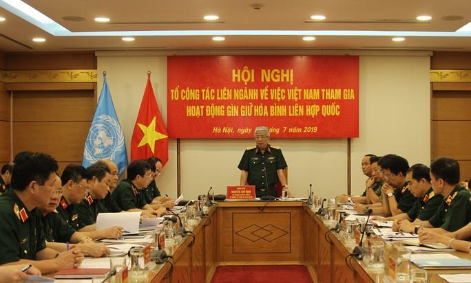 Sĩ quan Việt Nam được mời vào nhiều vị trí cao của lực lượng mũ nồi xanh LHQ - Ảnh 1.