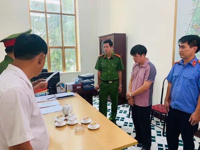 Đình chỉ công tác Phó giám đốc Ban Giải phóng mặt bằng TP Thanh Hóa - Ảnh 1.