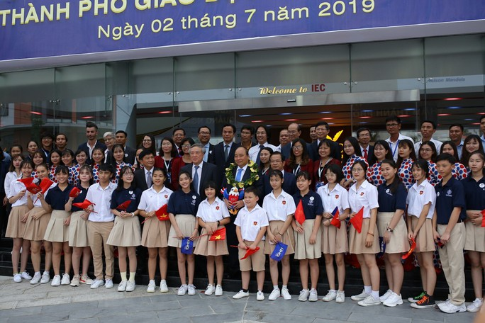 Thủ tướng ấn tượng với Thành phố Giáo dục quốc tế - IEC Quảng Ngãi - Ảnh 3.